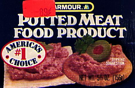 Armour Potted Meat Food Product